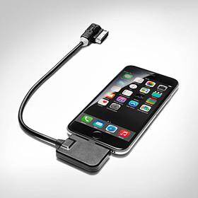 Apple lightning-connector adapterkabel voor AMI, audio, witte plug