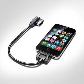 Apple dock-connector adapterkabel voor AMI, audio, blauwe plug