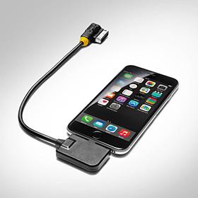 Apple lightning-connector adapterkabel voor AMI, audio, gele plug