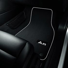 Audi Veloursmatten A6, voor en achter