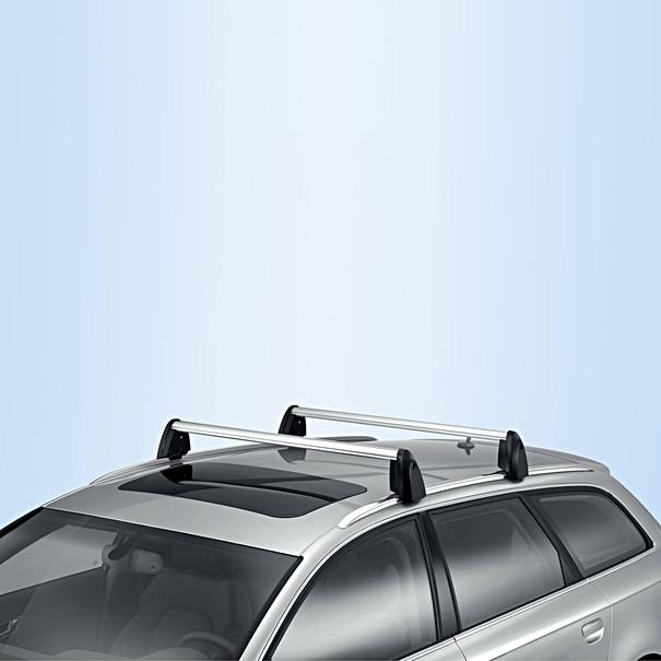 Audi Dakdragers A6 Avant, met dakrailing