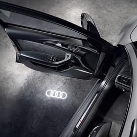 Instapverlichting, Audi ringen