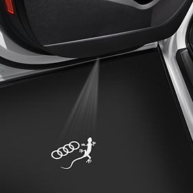Instapverlichting, Audi ringen met gecko