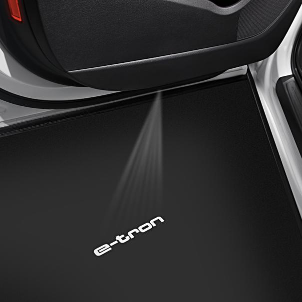 Audi Instapverlichting, e-tron logo