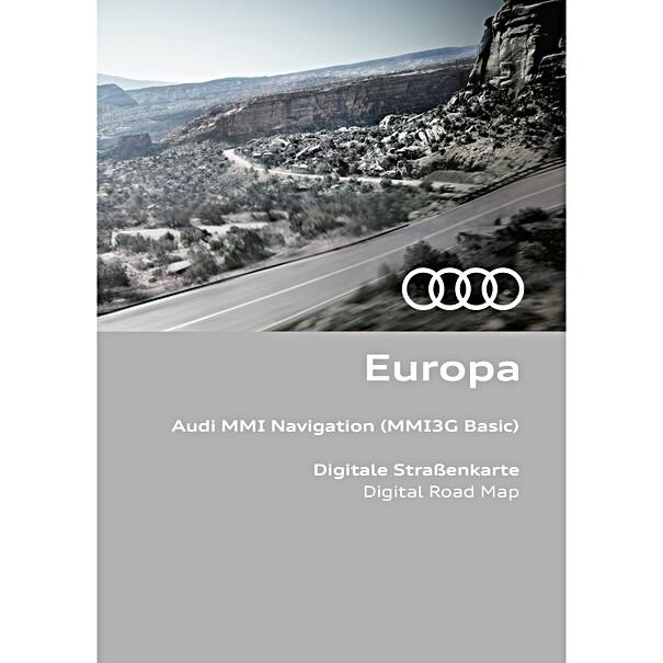 Audi Navigatie update MMI3G-B, Europa 2021/2022