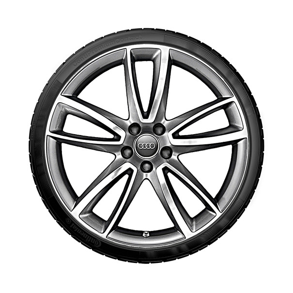 Audi 20 inch lichtmetalen zomerset, 5-arm Parabool