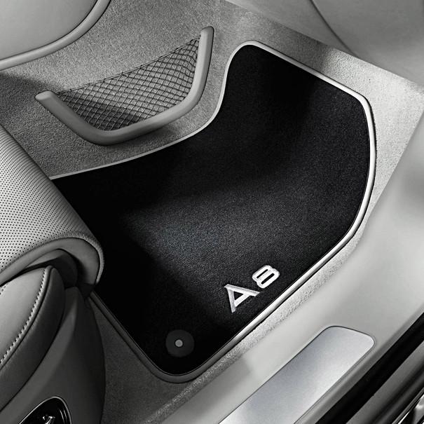 Audi Veloursmatten A8, voor