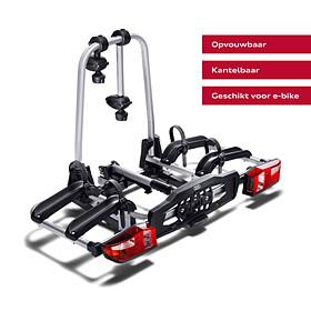 Audi Fietsendrager voor op trekhaak, 2 fietsen