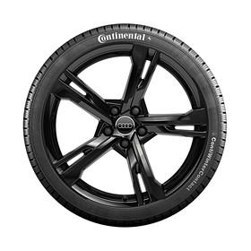 Audi 20 inch lichtmetalen winterset, 5-Arm Ramus zwart