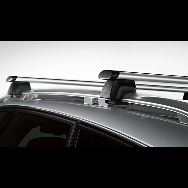 Audi Dakdragers A6 Allroad, met dakreling