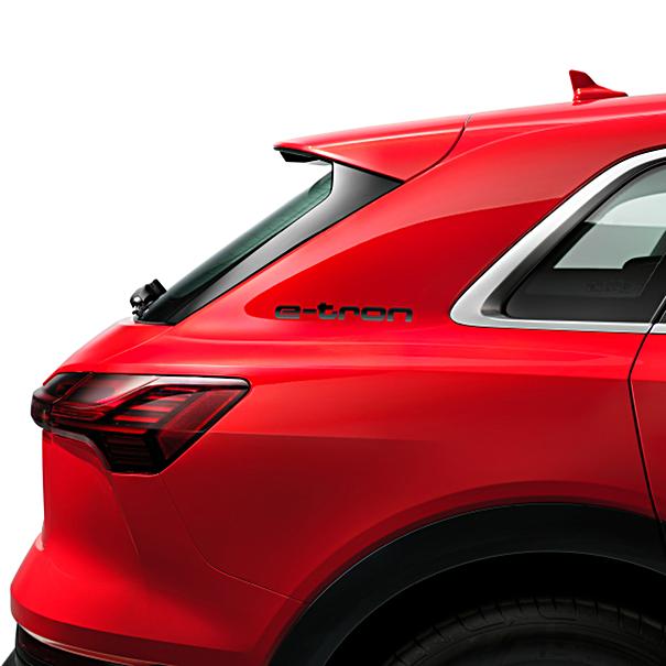 Audi Decorfolie e-tron zwart