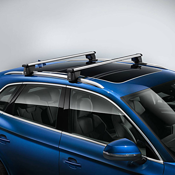 Audi Dakdragers e-tron, inclusief dakreling
