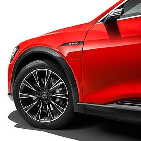 Audi 21 inch zomerset 10 spaaks Lamina design matzwart, e-tron