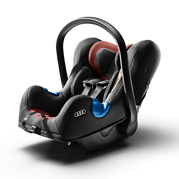 Audi Babyzitje, misanorood/zwart, tot 13 kg