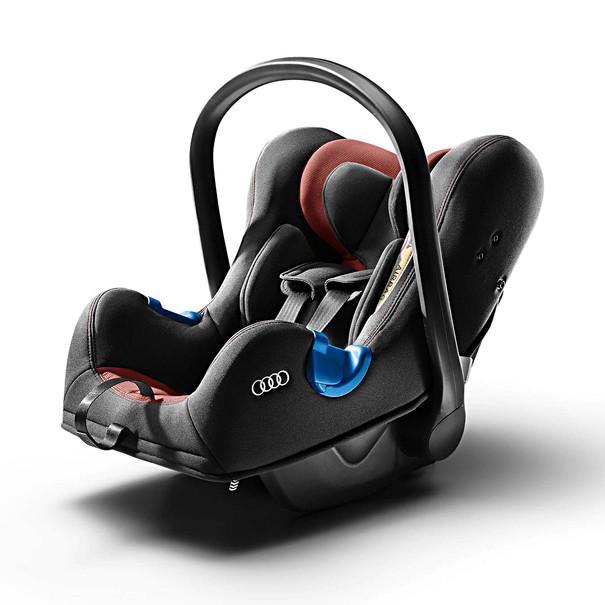 Audi Babyzitje I-SIZE, misanorood/zwart