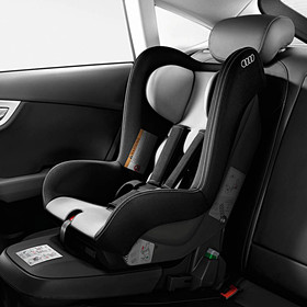 Audi Kinderzitje, titaangrijs / zwart