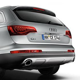 Audi Chromen uitlaatsierstukken, links + rechts