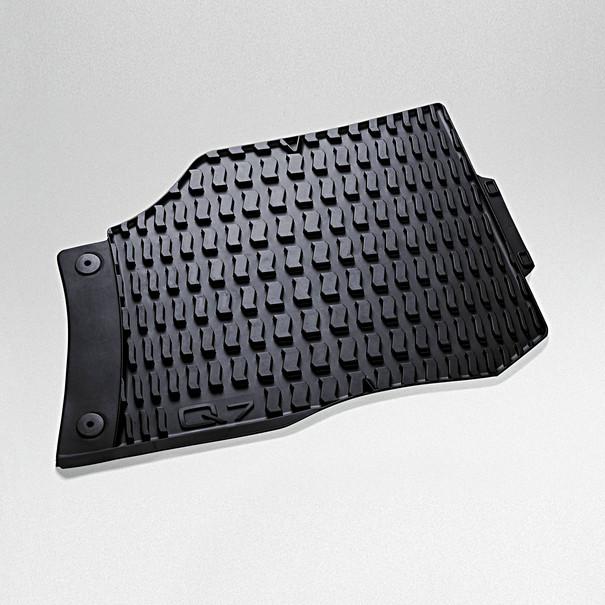 Audi Rubberen mattenset Q7, voor
