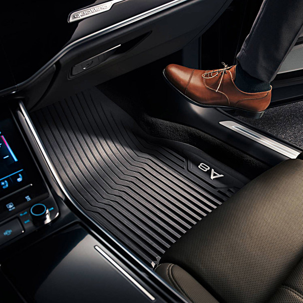 Audi Rubberen mattenset A8L, achter