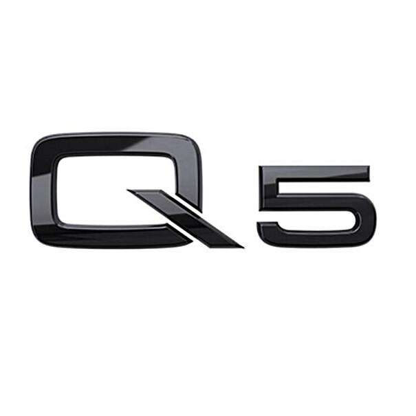 Audi Modeltype zwart achter Q5