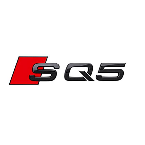 Audi Modeltype zwart achterzijde SQ5