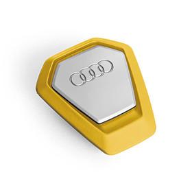 Audi Singleframe luchtverfrisser geel