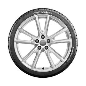Audi 20 inch lichtmetalen winterset, 5-V spaak