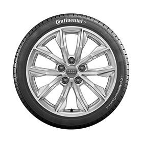 Audi 17 inch lichtmetalen winterset, 5-V spaak