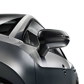 Audi Carbon spiegelkappen Q2, zonder sideassist