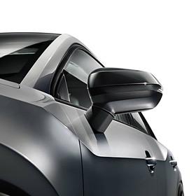 Audi Carbon spiegelkappen Q2, met sideassist