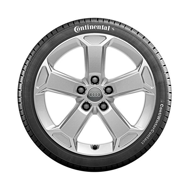 Audi 17 inch lichtmetalen winterset, 5-arm Latus