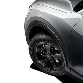 Audi 17 inch lichtmetalen winterset Q2, 5-arm Latus zwart