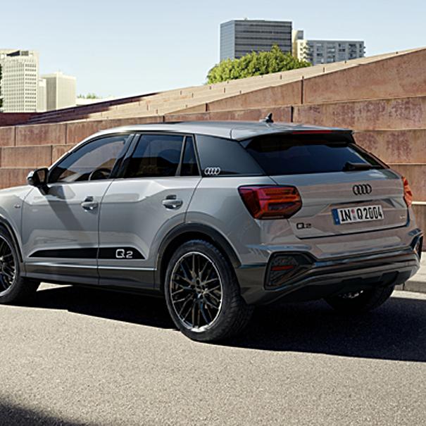 Audi Decorfolie Q2 zwart