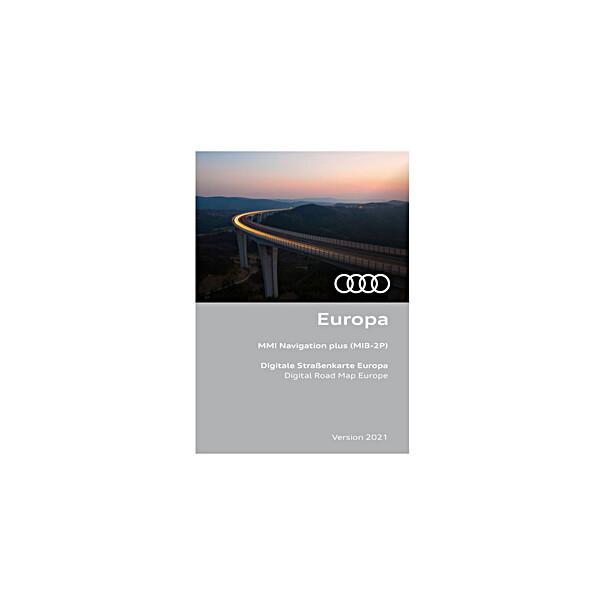 Navigatie update MMI, Europa 2021, inclusief Audi connect diensten en infotainment basis