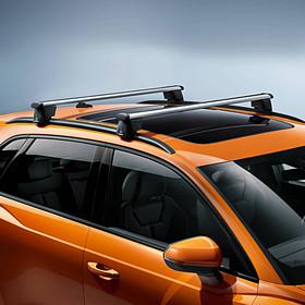 Audi Dakdragers Q3, met dakreling