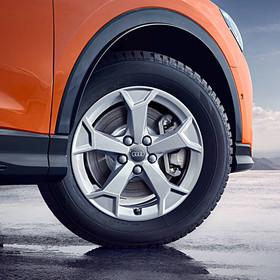 Audi 17 inch lichtmetalen winterset, 5-Arm-Serra