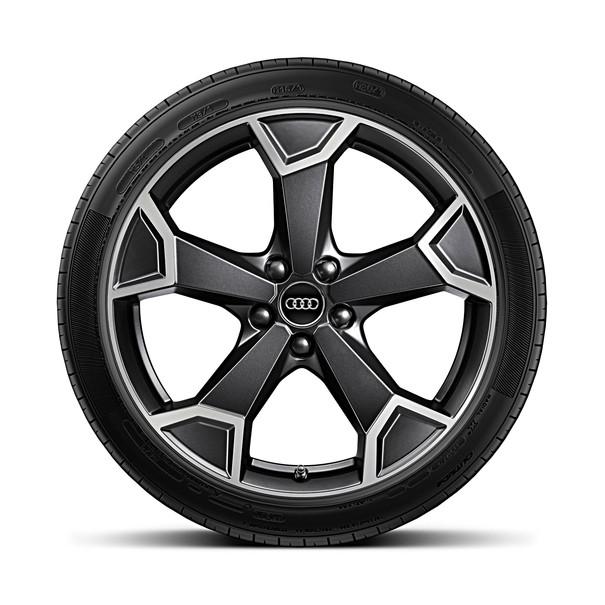 Audi 19 inch lichtmetalen zomerset, 5-arm Sierra