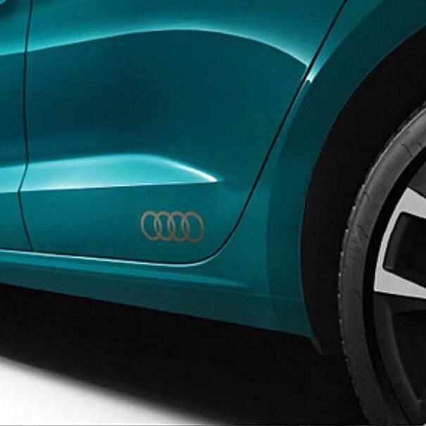 Decorfolie Audi ringen brons