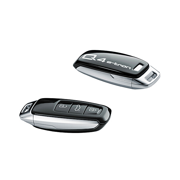 Audi Sleutelcover Q4 e-tron zwart