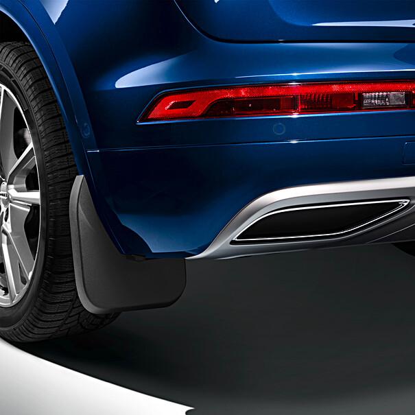 Audi Spatlappen Q4 S line achterzijde