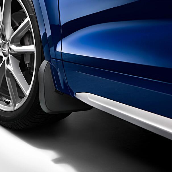 Audi Spatlappen Q4 S line voorzijde