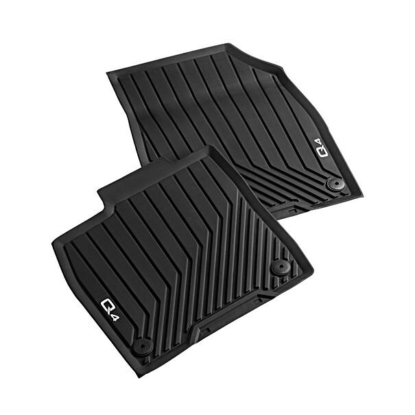 Audi Rubberen mattenset Q4 voorzijde