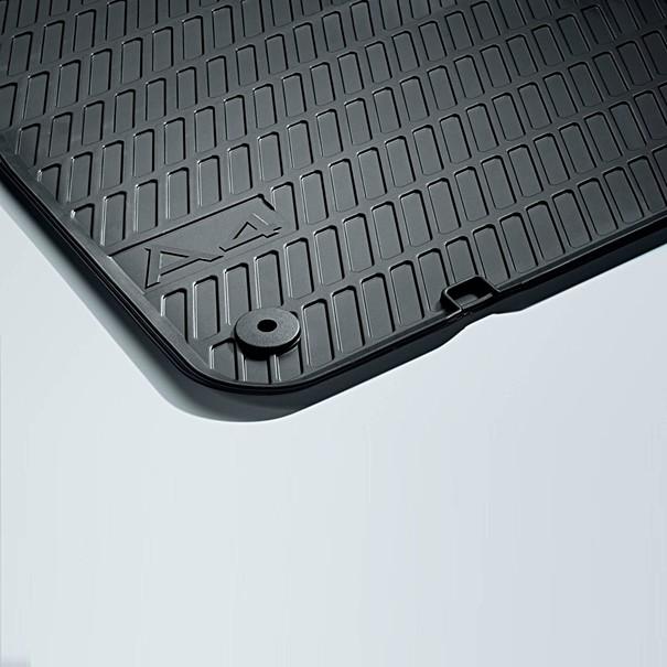Audi Rubberen mattenset A4, voor en achter