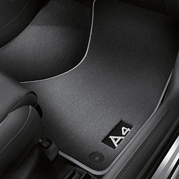 Audi Veloursmatten A4, voor en achter