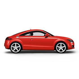 Audi 19 inch lichtmetalen zomerset, 5-arm Turbo wit