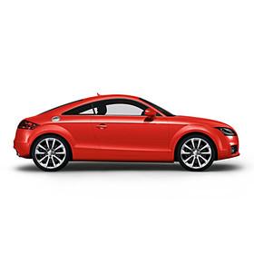 Audi 19 inch lichtmetalen zomerset, 10-spaak zilver