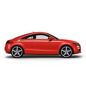 Audi 19 inch lichtmetalen zomerset, 5-arm Turbo zilver