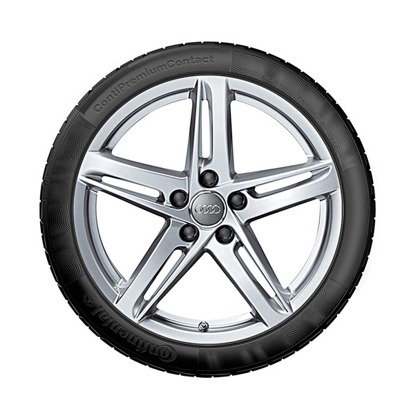 Audi 18 inch lichtmetalen zomerset, 5-arm Rotor