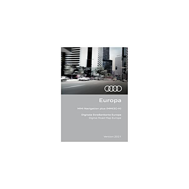 Audi Navigatie update MMI3G-H, Europa 2021