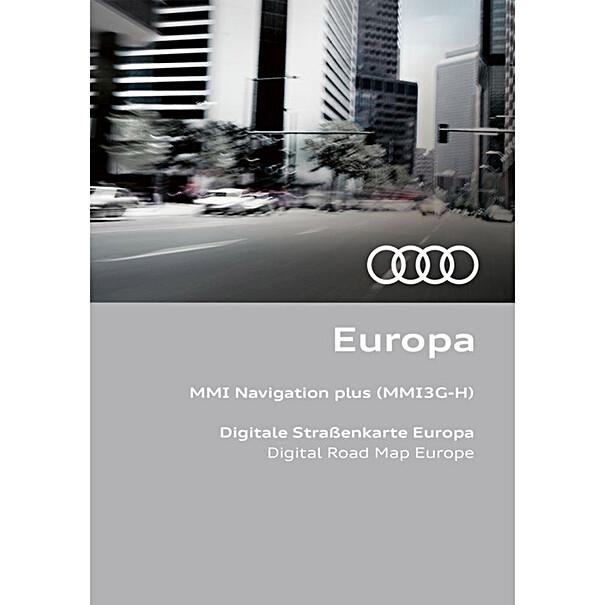 Audi Navigatie update MMI3G-H, Europa 2021/2022